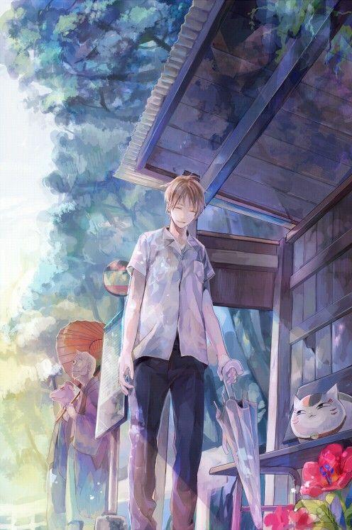 Natsume Takashi & Madara   Natsume Yuujinchou #anime #manga