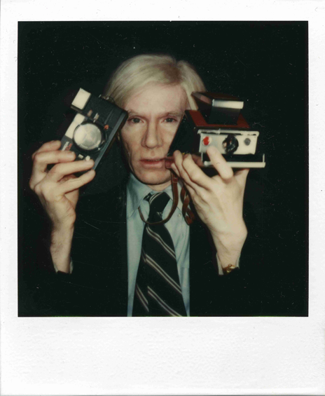thewarholfactory:    Taken between 1970 and 1986, the subjects ranging from Debbie Harry to Yves St. Laurent and Giorgio Armani to Yoko Ono were captured on Warhol's favourite camera- the Polaroid Big Shot.