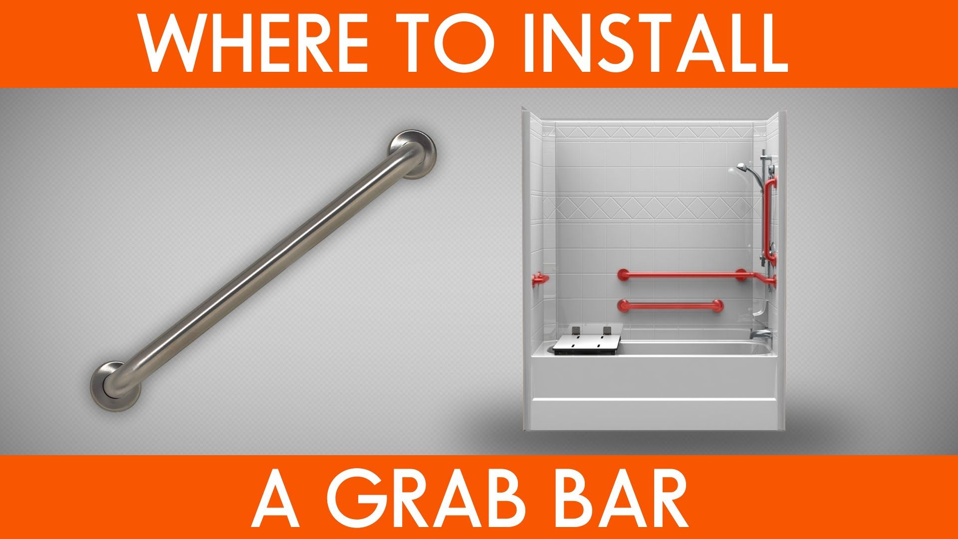 Have Questions About Installing A Grab Bar Check Out Our Video On