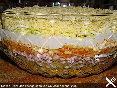 Schichtsalat von simoon | Chefkoch