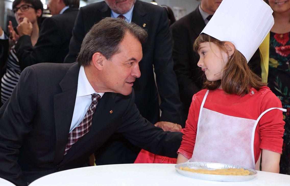 President Artur Mas i Petit Xef. Catalunya. Catalonia