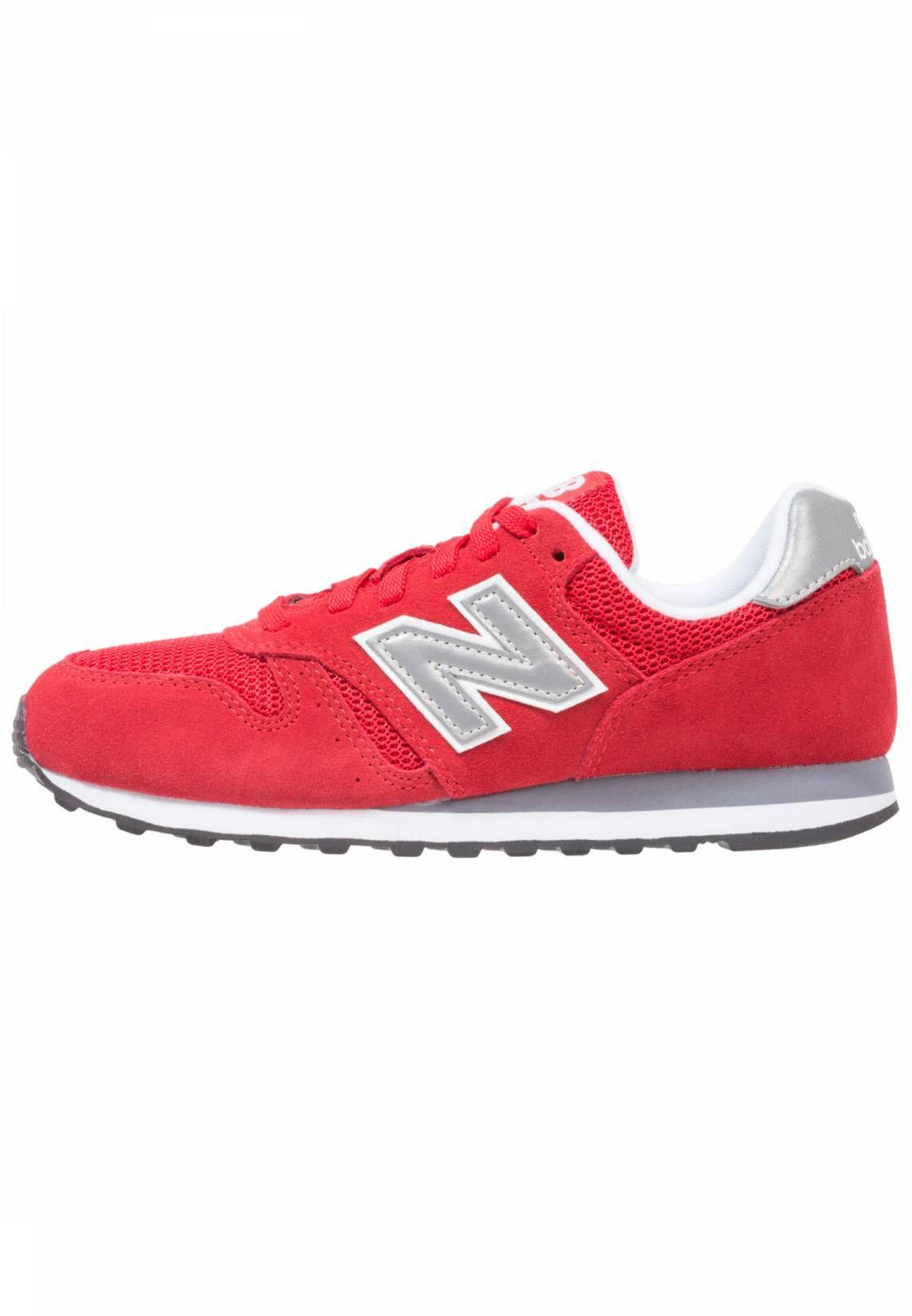 big sale a3e27 0f83d ML373 - Sneakers basse - red . Chiusura Lacci. Punta Tonda. Rivestimento