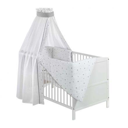 Schardt Mitwachsendes Babybett Mit Himmel Und Nestchen Babyzimmer