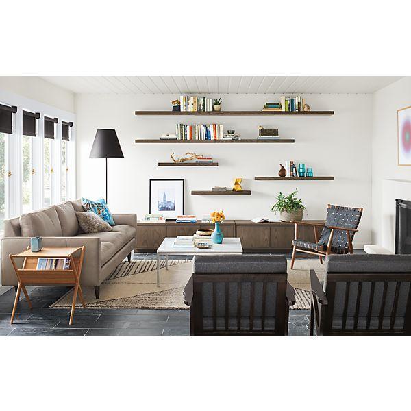 Broyhill Sofa Keaton Media Cabinet with Jasper Sofa Modern Living Room Furniture Room u Board