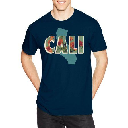 0342e81c1 Hanes Men's Lightweight Graphic Tee - Vintage Cali Collection, Size: Small