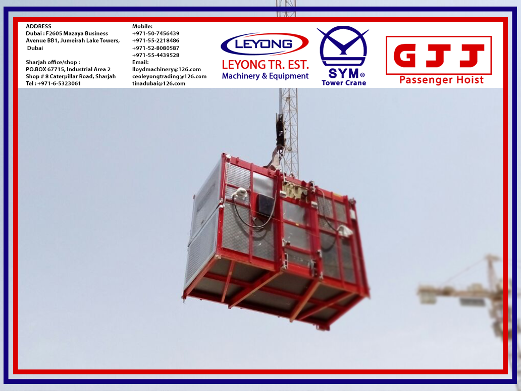 Pin by Leyong Machinery on GJJ Passenger Hoist | Spare parts