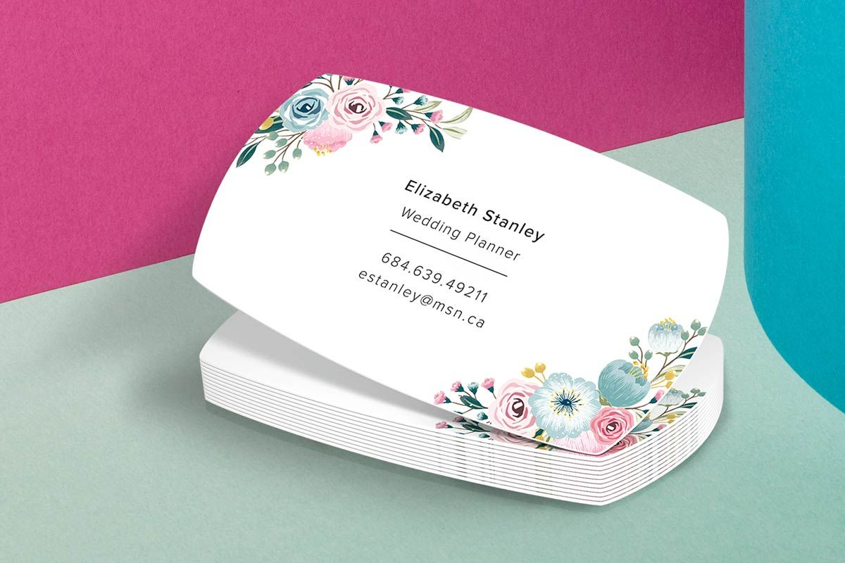 Silk Matte Business Cards Smooth Rich Cards Shaped Business Cards Custom Sticker Printing Presentation Cards