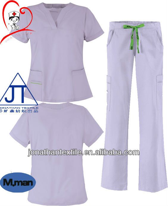 47ead0d0098 JT-080 solid scrub suit / scrubs wholesale / medical scrubs china $4 ...