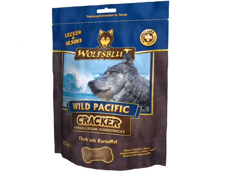 Wolfsblut Wild Pacific Cracker Hundekekse mit Fisch & Kartoffel