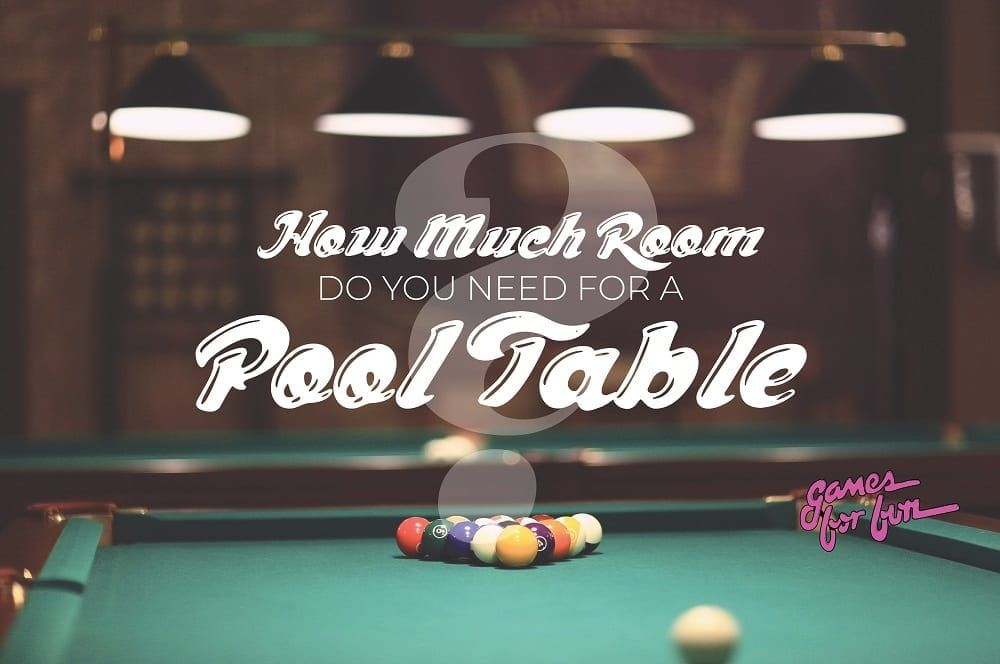 How Much Room Do You Need For A Pool Table Billiard Room Pool