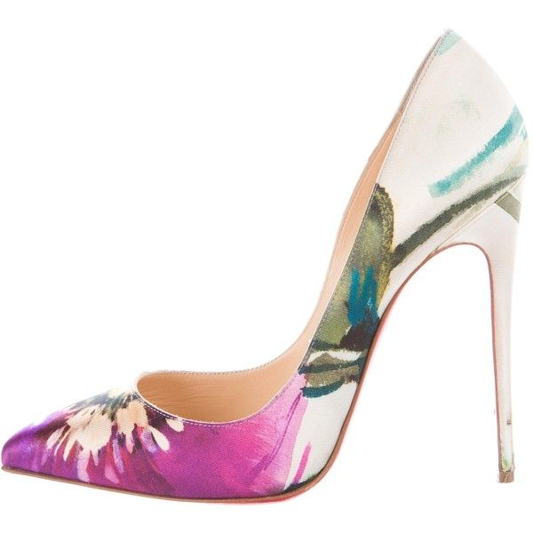 the latest b02a6 df9fa Pre-owned Christian Louboutin Pigalle Follies 120 Pumps ...