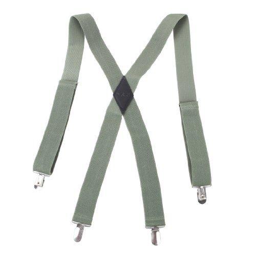 130 kr. (Findes i 13 forskellige farver og varianter) SP2012 Business- Casual Goods Green Solid Popular Presents Hold-up X-back Clip Genuine Suspenders Business By Y&G Y&G http://www.amazon.co.uk/dp/B006BKYVV2/ref=cm_sw_r_pi_dp_zmB4wb0BJCRS7