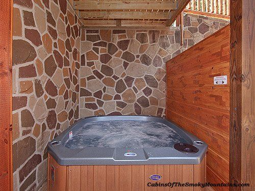 Pigeon Forge Cabin Parkview Palace 7 Bedroom Gatlinburg Cabins Gatlinburg Cabin Rentals Indoor Hot Tub