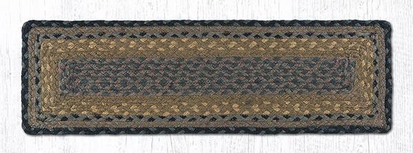 Best 27In X 8 25In Brown Black Charcoal Rectangle Braided 400 x 300