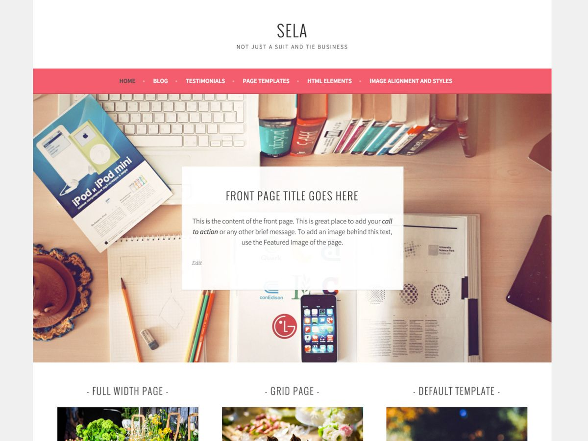 Sela is not your typical business theme. Vibrant, bold, and clean with lots of space for large images, it's a perfect canvas to tell your company's story — and it's responsive, adapting…