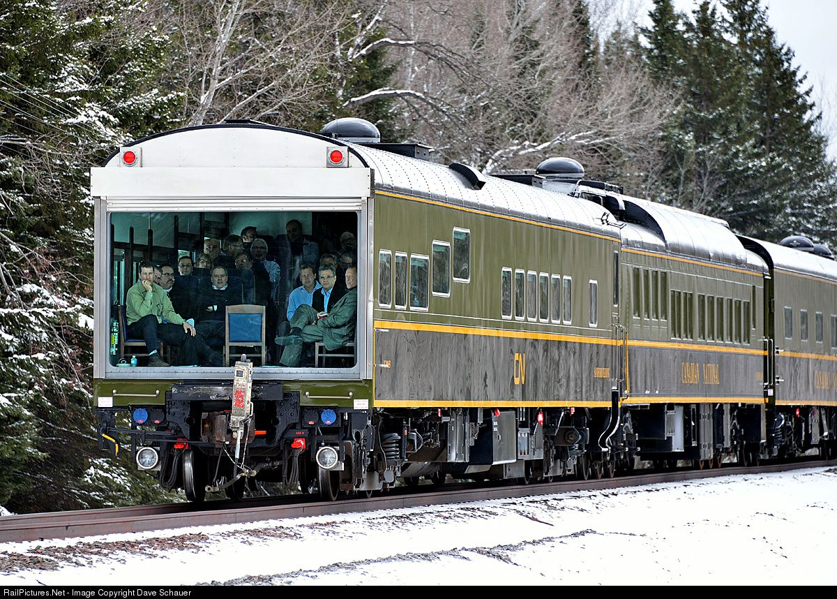 Pin canadian national railroad map on pinterest - A Full House In The Theater Car Sandford Fleming As A Cn Inspection Train Rolls South