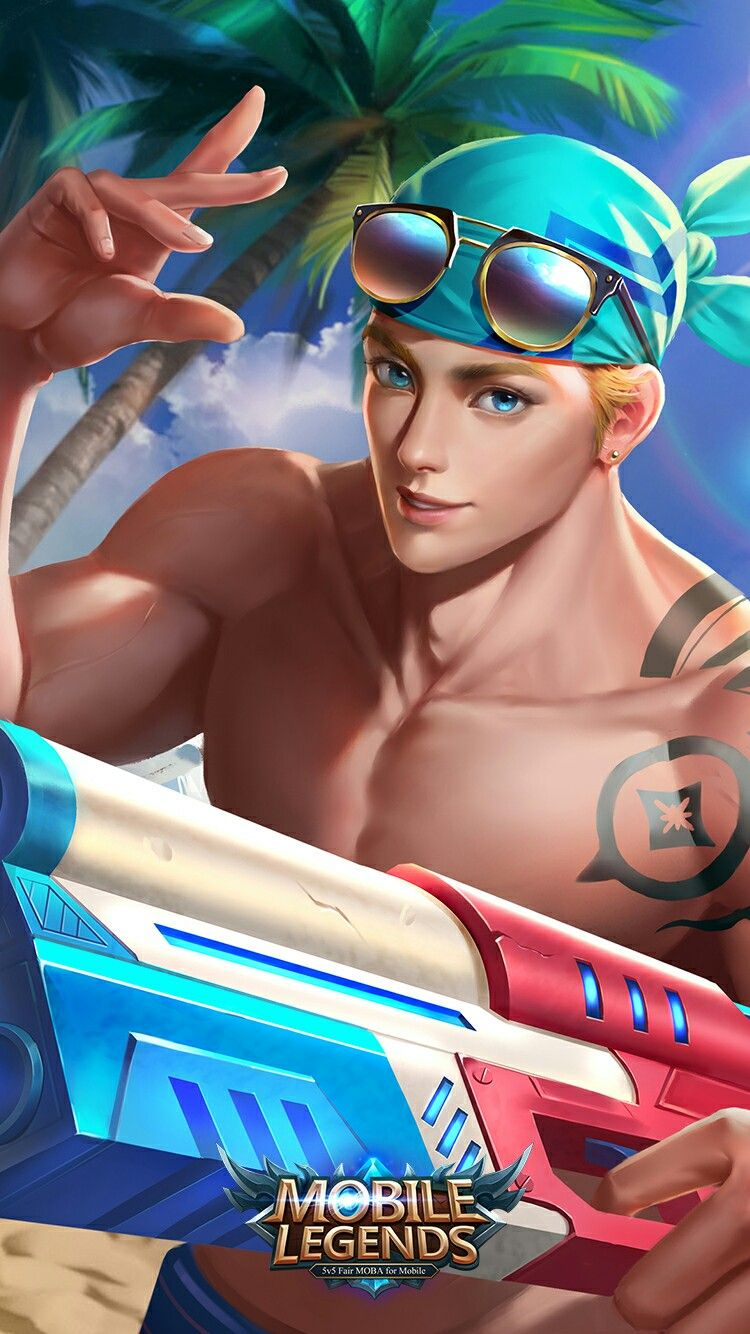 Mobile Legends Clint Sun N Sand Mobile Legend Wallpaper Bruno Mobile Legends Mobile Legends