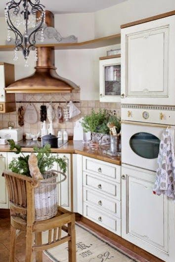 How To Add A Farm Shabby Chic Style To Your Kitchen Home