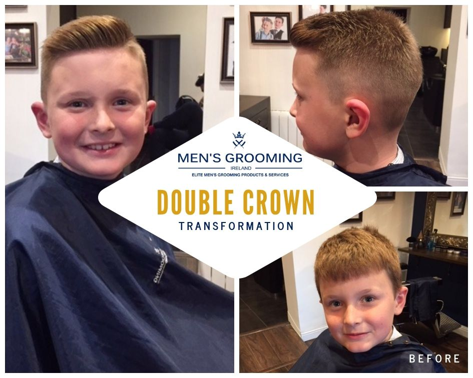 Haircuts For Boys Double Crown Transformation Men S Grooming Ireland Boys Haircuts Cool Boys Haircuts Little Boy Haircuts