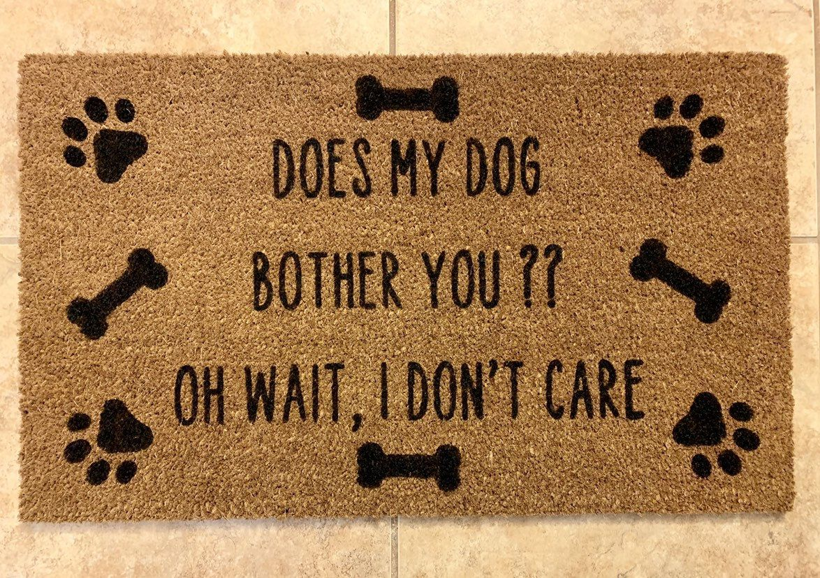 Funny Doormats Funny Doormat Dog Lover Doormat Dog Decor Dog