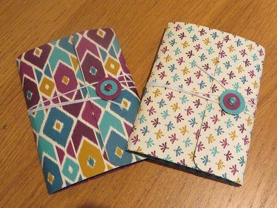CraftyCarolineCreates: Handmade Pocket Notebook using Bohemian DSP by Sta...