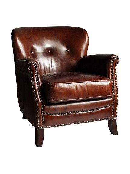 Melange Home Aberdeen Top-Grain Leather Armchair, Vintage Cigar, http://www.myhabit.com/redirect/ref=qd_sw_dp_pi_li_t1?url=http%3A%2F%2Fwww.myhabit.com%2F%3F%23page%3Dd%26dept%3Dhome%26sale%3DA30EKTWFQO8QAZ%26asin%3DB00D6VR7NI%26cAsin%3DB00D6VR7NI