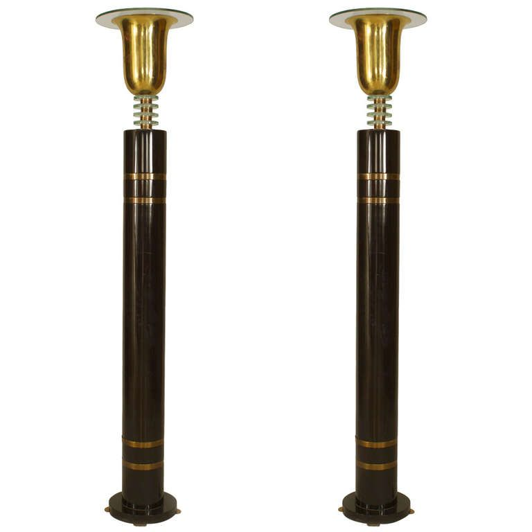 Pair Of French Art Deco Floor Lamps 1stdibs Com Art Deco Floor Lamp French Art Deco Art Deco