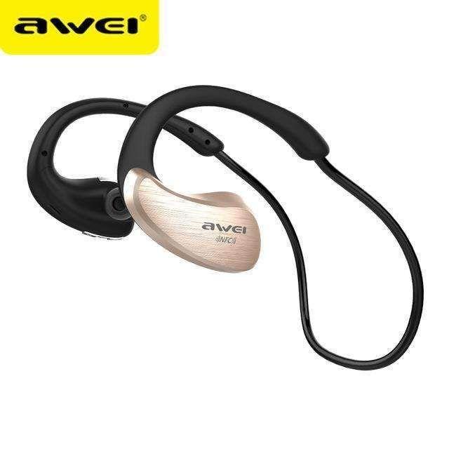 Awei A885Bl Bluetooth Earphones Wireless Headphone With Microphone Nfc  Apt-X Sport Headset 3e1eaa815d