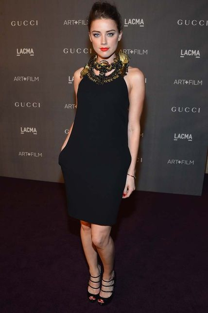 Asi es Amber Heard la novia explosiva de Jhonny Depp