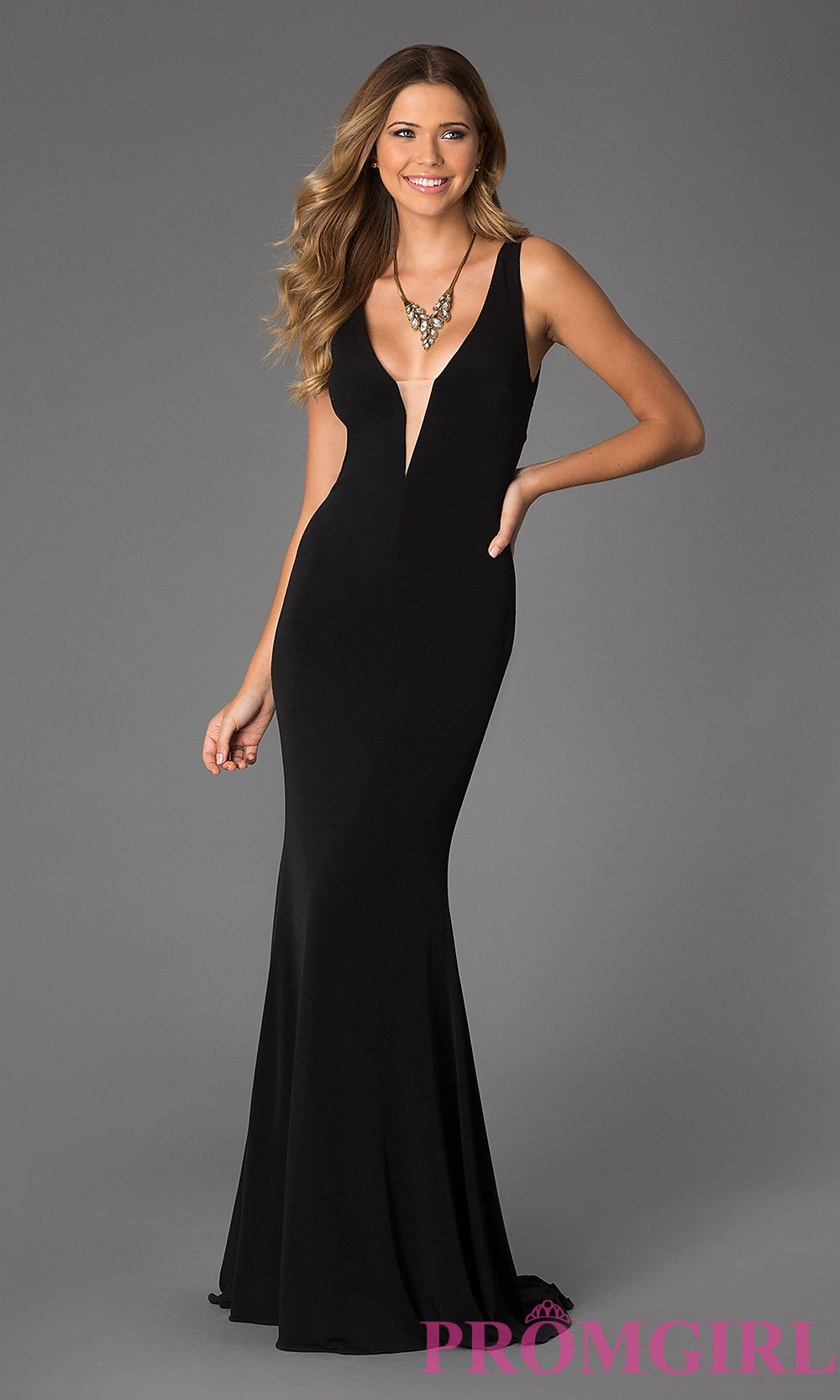 Hayley wants prom pinterest gowns low cut black dress and prom embellished chiffon black trumpet v neck natural evening dress in stock prom dress prom dresses ombrellifo Images