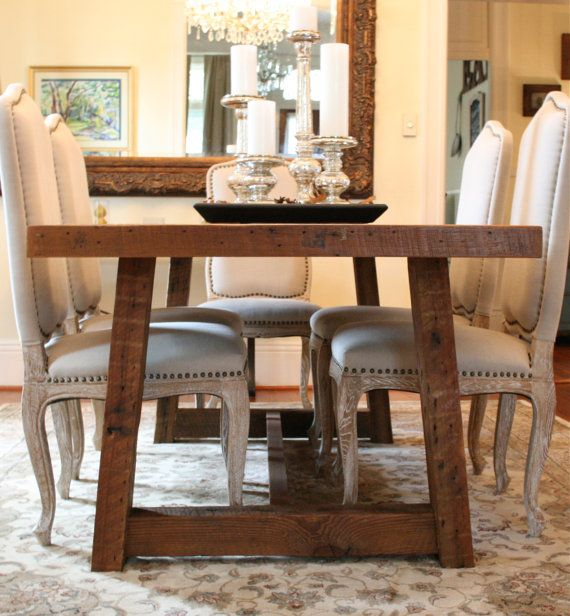 Made To Order  The Pecky Dining Table Is A Farmhouse Inspired Table Made  From A Rare Type Of Louisiana Wood Known As Pecky Cypress.