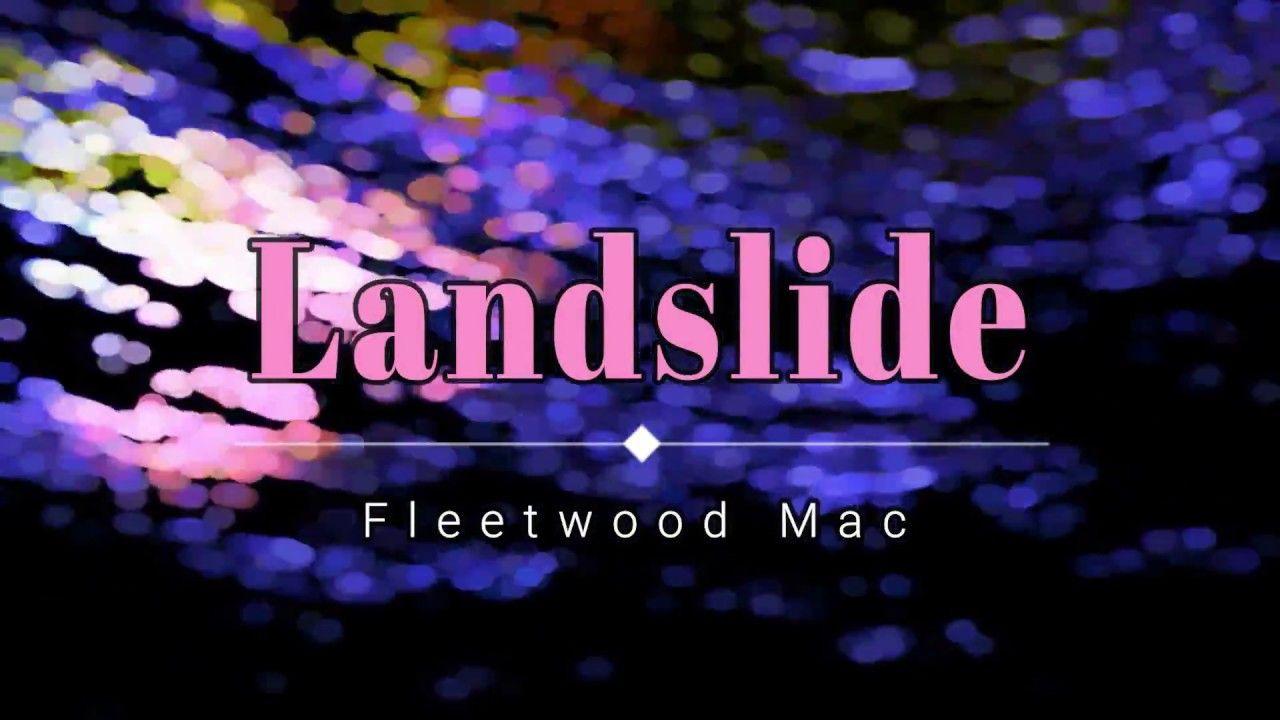 Fleetwood Mac Landslide (Lyric Video) [HD] [HQ