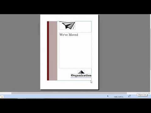 Video: How to Create Top-Fold Invitations in Microsoft Publisher | eHow