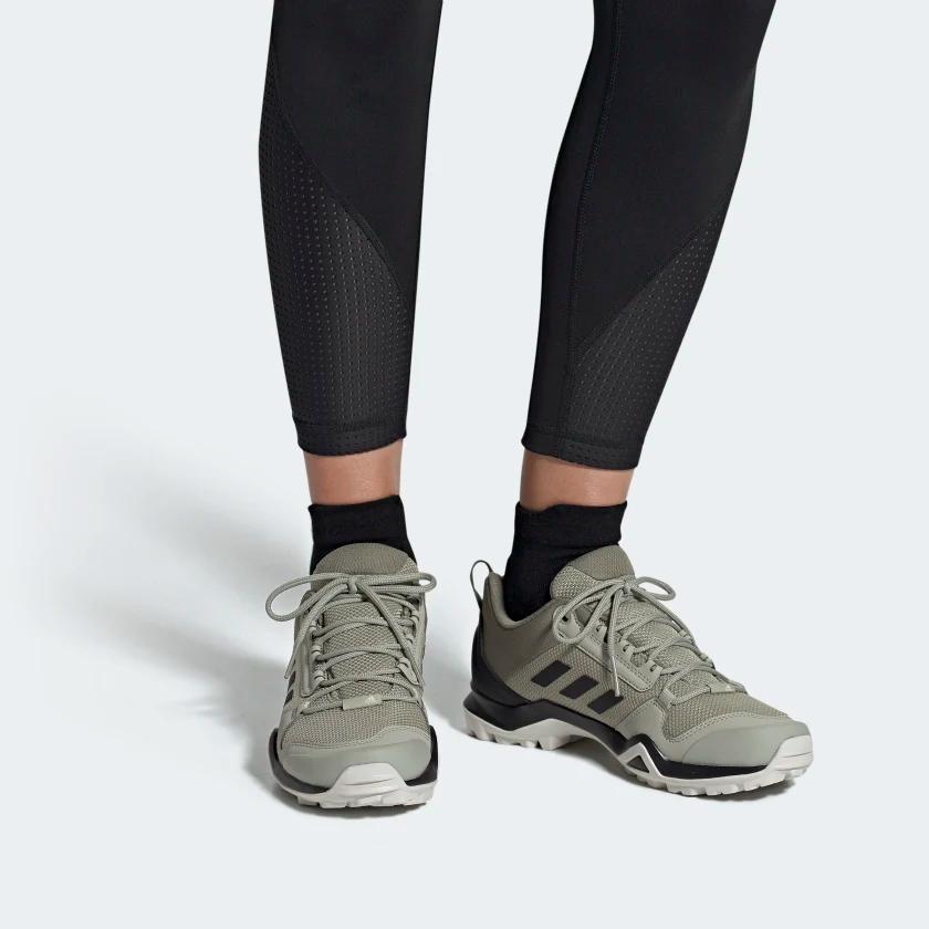 Adidas Terrex Ax3 Hiking Shoes Beige Adidas Us Hiking Boots Hiking Shoes Shoes