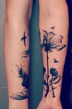 La Piqure Du Tatouage Ca S Attrape Tatouage Tatouage Fleur De