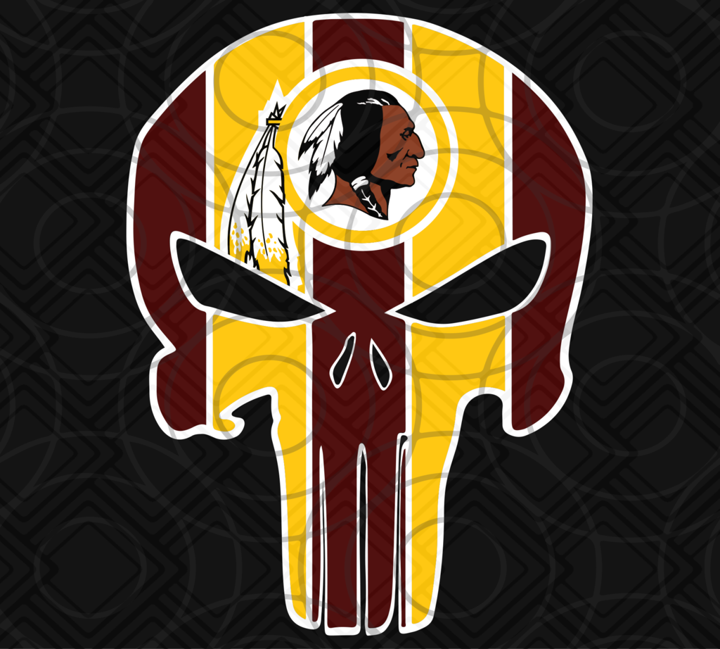Washington Redskins, Washington Redskins svg, Punisher