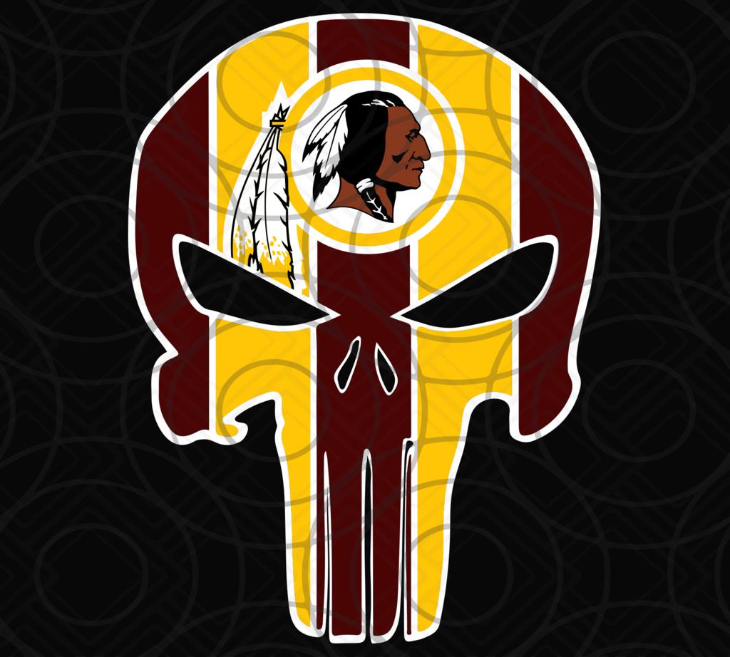 Washington Redskins, Washington Redskins svg, Punisher