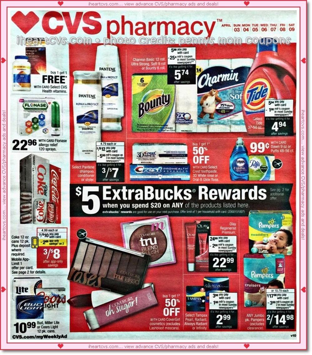 04/03 04/09 Cvs couponing, Cvs pharmacy, Coupons