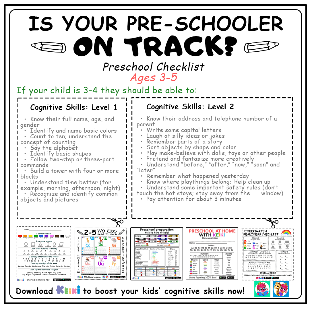 Prepare Your Kid For Success In Class And Beyond Tap To Get Access To All Pre K Topics Preschool Checklist Preschool Education Learning Games For Preschoolers [ 1080 x 1080 Pixel ]