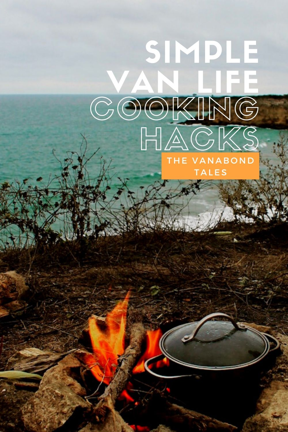 Elevate your van life kitchen with these handy tips and tricks. 10 simple van life cooking hacks every overlander, camper and van life cook should know.   van life cooking | vanlife cooking | van life food | cooking in a van | van life meals | vanlife kitchen | van life food no fridge | van life kitchen | van life recipes | cooking inside a van | van life cookbook | van life tips and tricks | vanlife kitchen essentials  #vanlife #vanlifekitchen #vanlifecooking