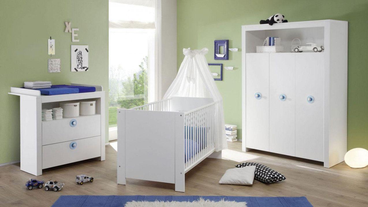 Babyzimmer Set 3 Teilig Olivia Kinderzimmer In Weiß von