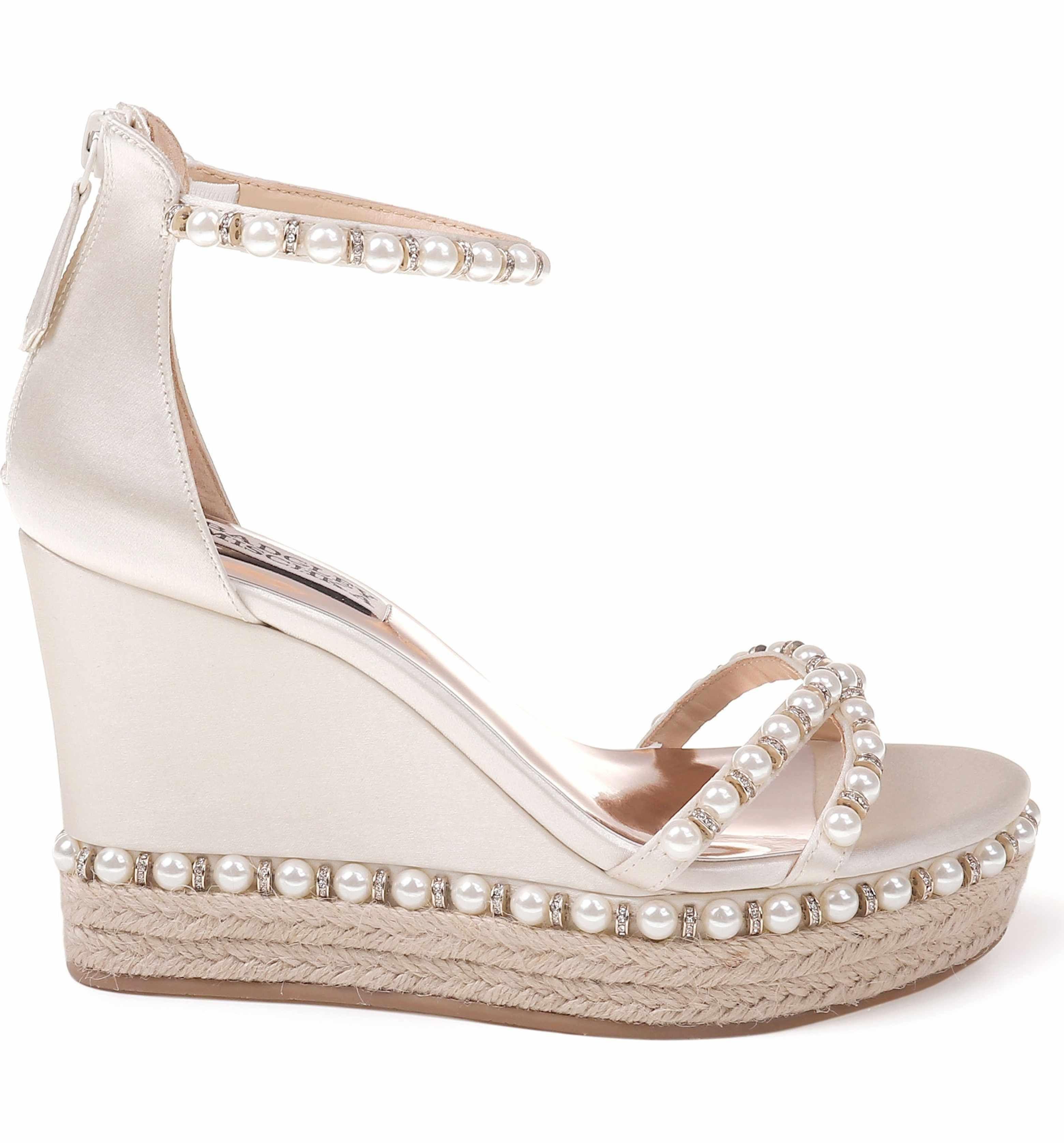 28cd67173b7 Main Image - Badgley Mischka Sloan Wedge Sandal (Women) | SHOES ...