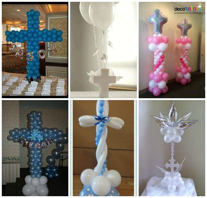 Ideas de decoraci n con globos para comuniones todo for Todo decoracion