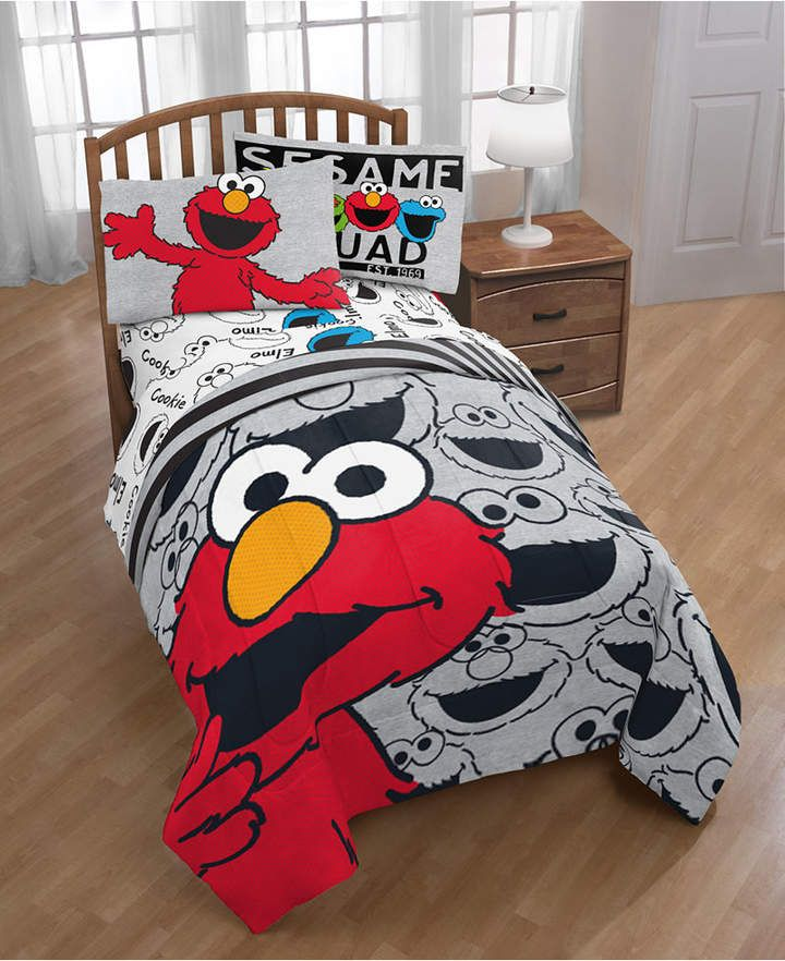 Sesame Street Hip Elmo Twin Comforter Bedding Products In