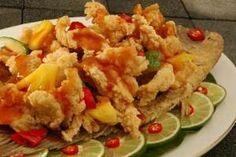 Resep Gurame Asam Manis Hobimasak Info Resep Masakan Resep Masakan Cina Resep Ikan