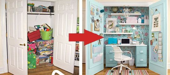 How To Turn A Room Into A Closet. Spare Bedrooms That Turned Into ...