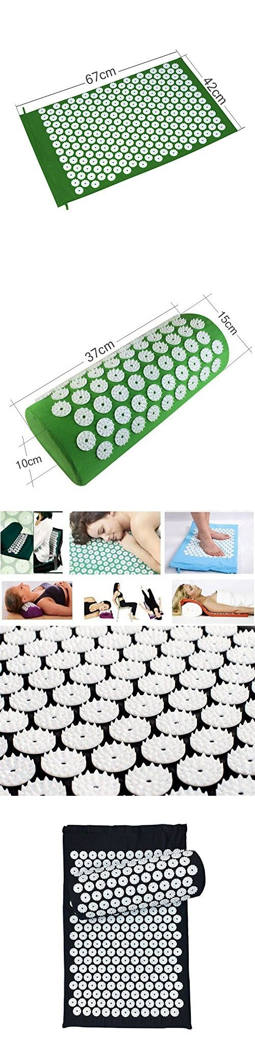 Body head foot massager cushion acupressure mat relieve stress pain