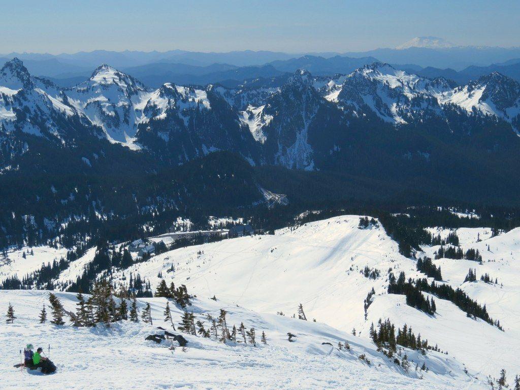 Panorama Point Snowshoe / Mount Rainier Mount rainier