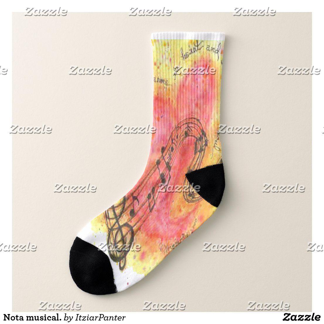 Musical Note Socks