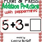 Print is extra large for students (who struggle with fine motor skills)  to count the touch points independently.  Practice touch point math with...